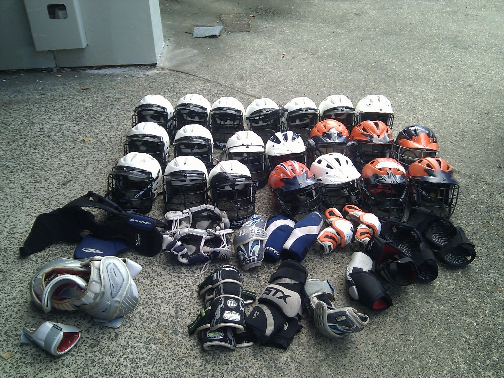 Mountain Lakes Lacrosse Donation